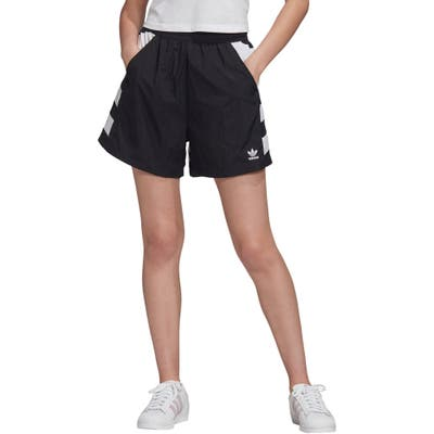 Adidas Originals Large Logo Shorts, Black