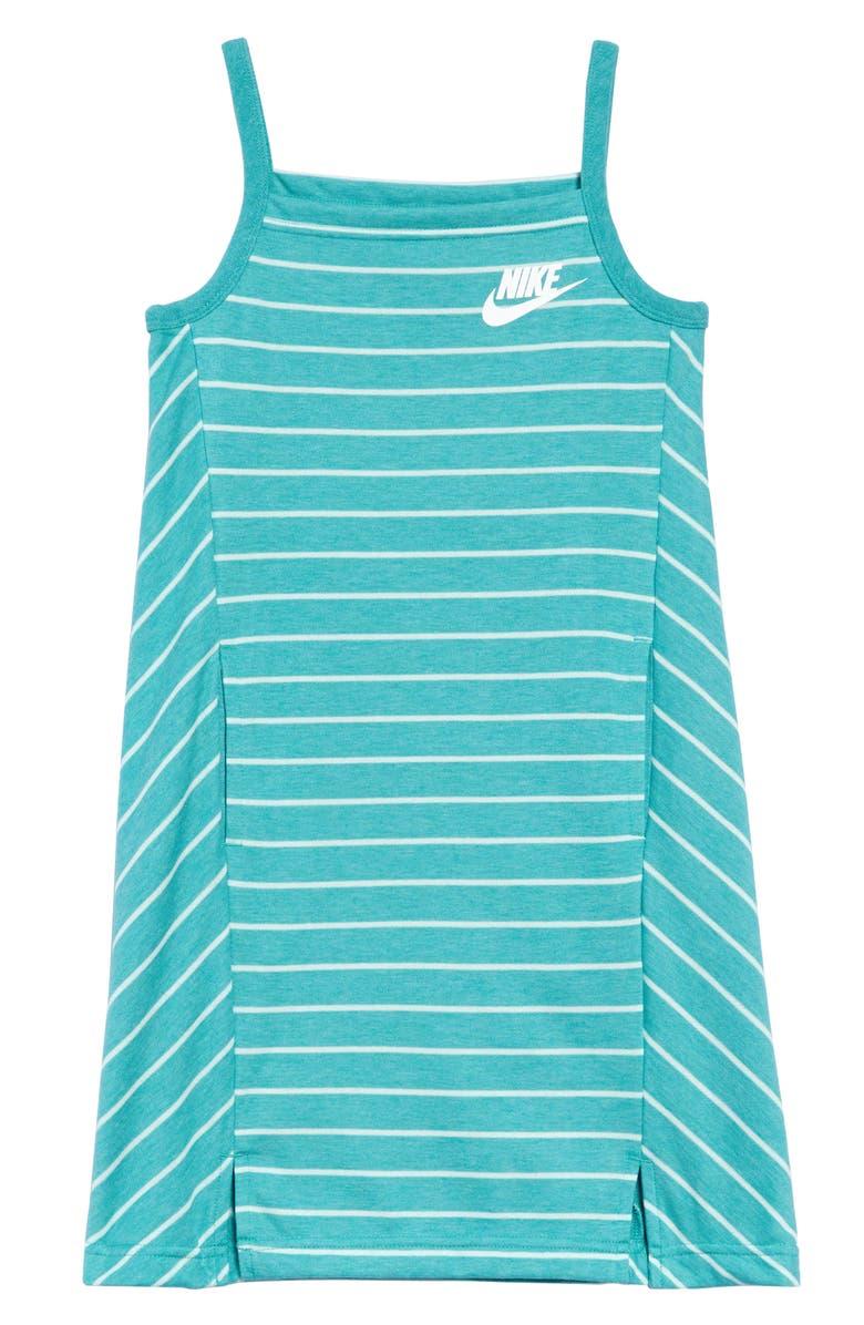 NIKE Sportswear Stripe Tank Dress, Main, color, 309