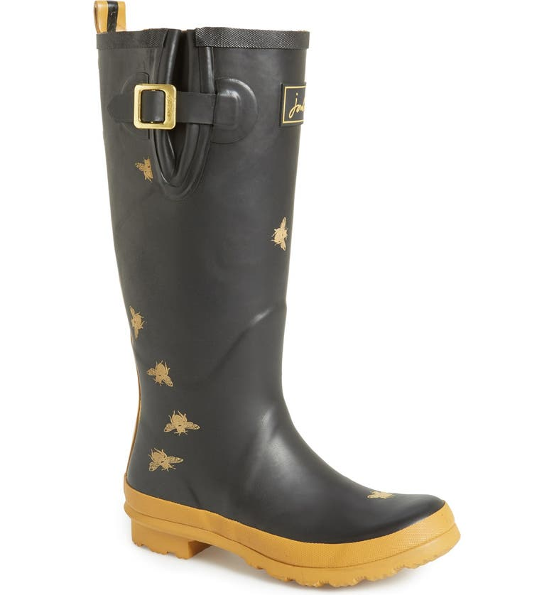 JOULES 'Wellyprint' Rain Boot, Main, color, 002