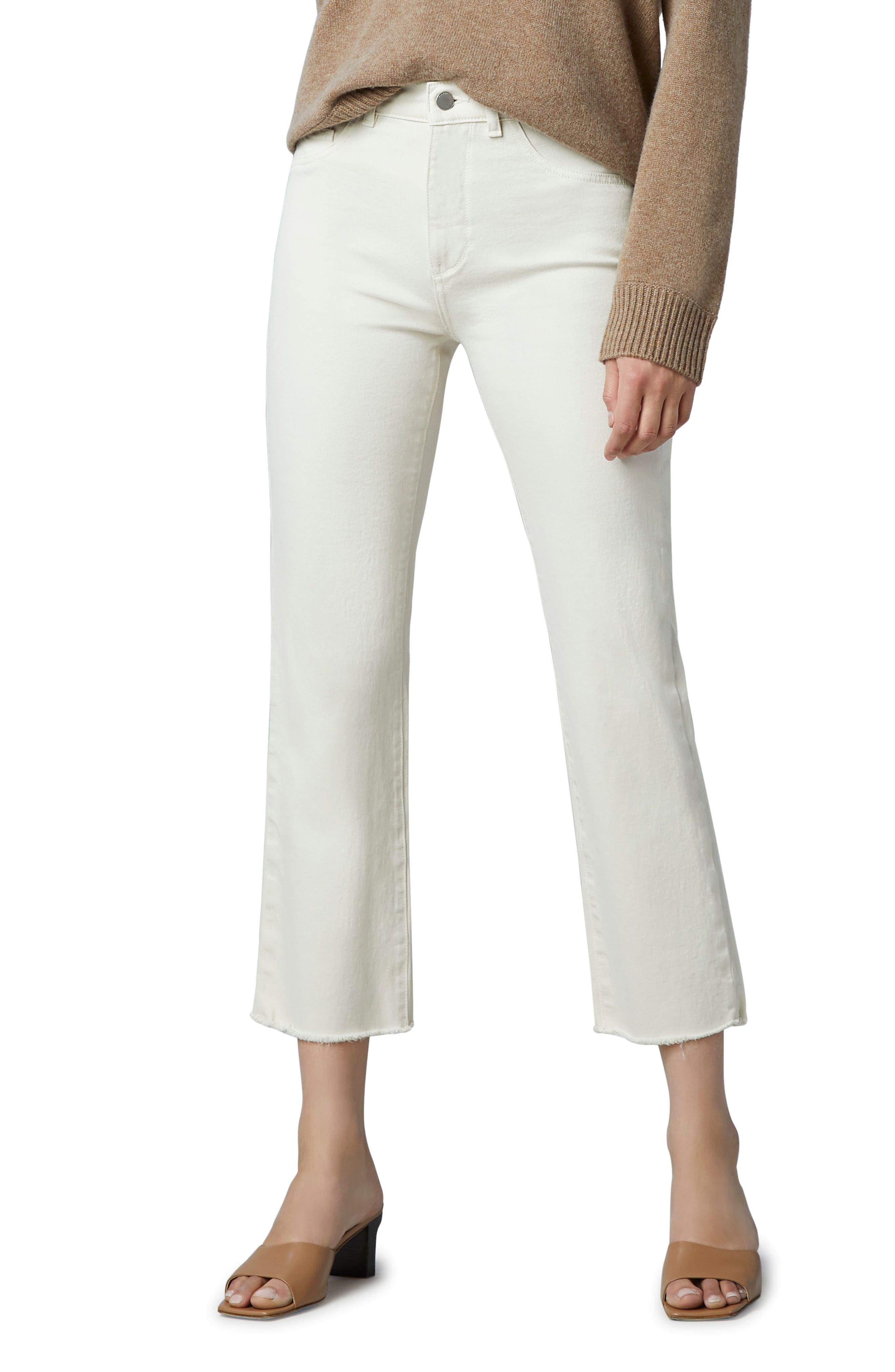 1961 Patti Frayed High Waist Straight Leg Jeans