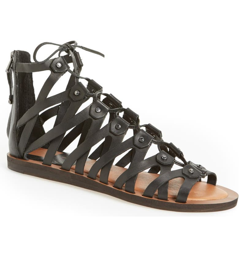 DOLCE VITA 'Fray' Sandal, Main, color, 001