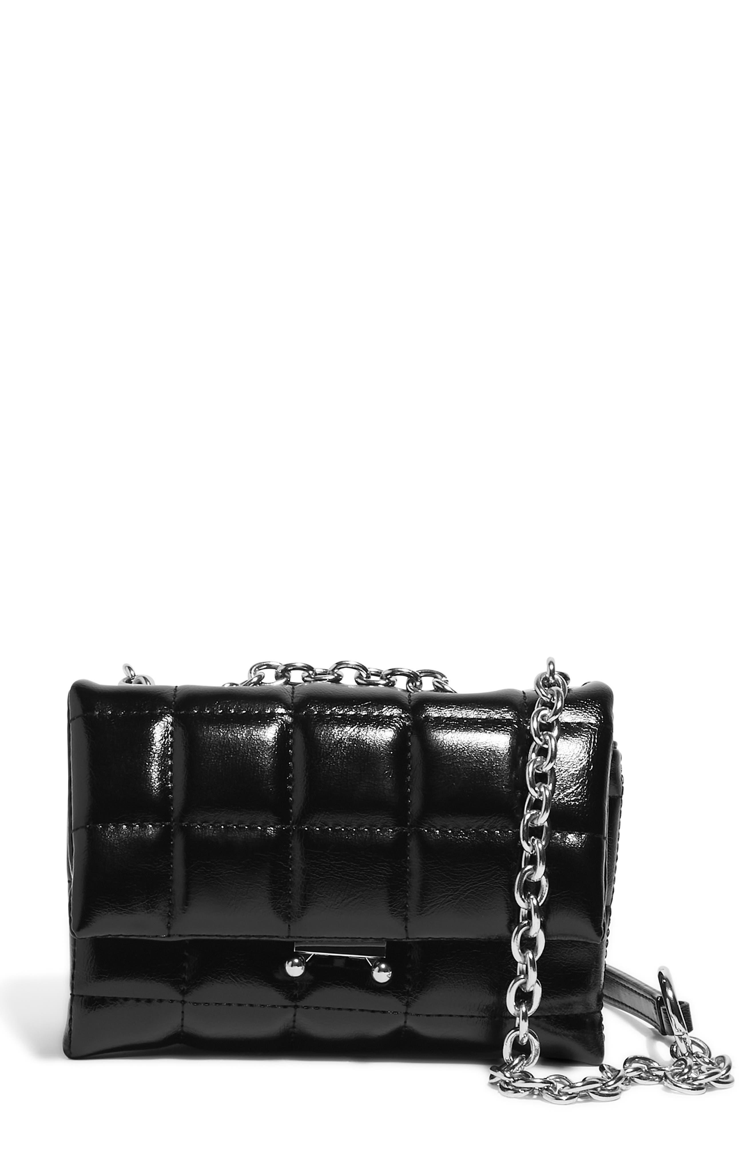 Small How We Slay Vegan Leather Shoulder Bag