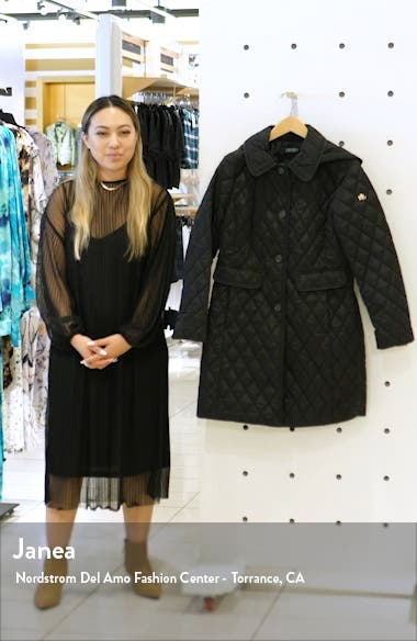 Quilted Coat with Hood, sales video thumbnail
