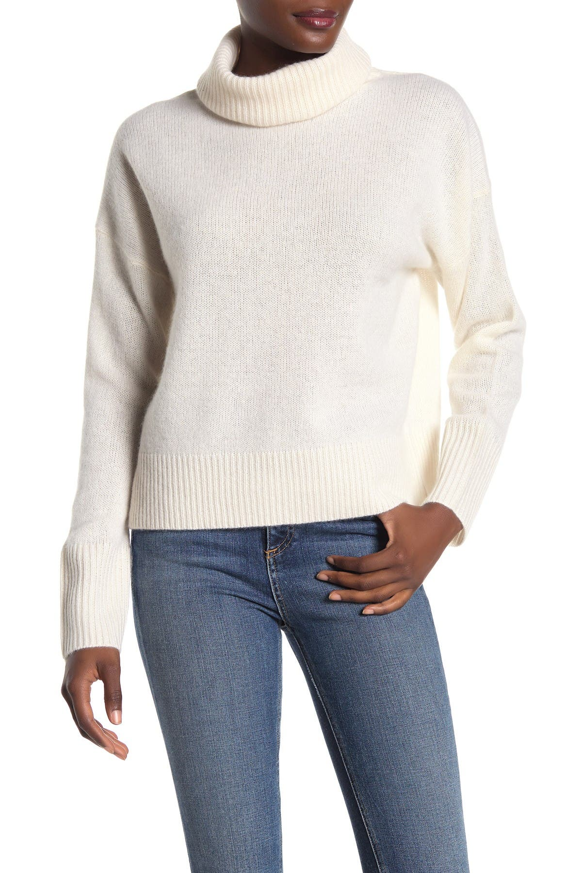 Image of 360 Cashmere Raelynn Turtleneck Cashmere Sweater