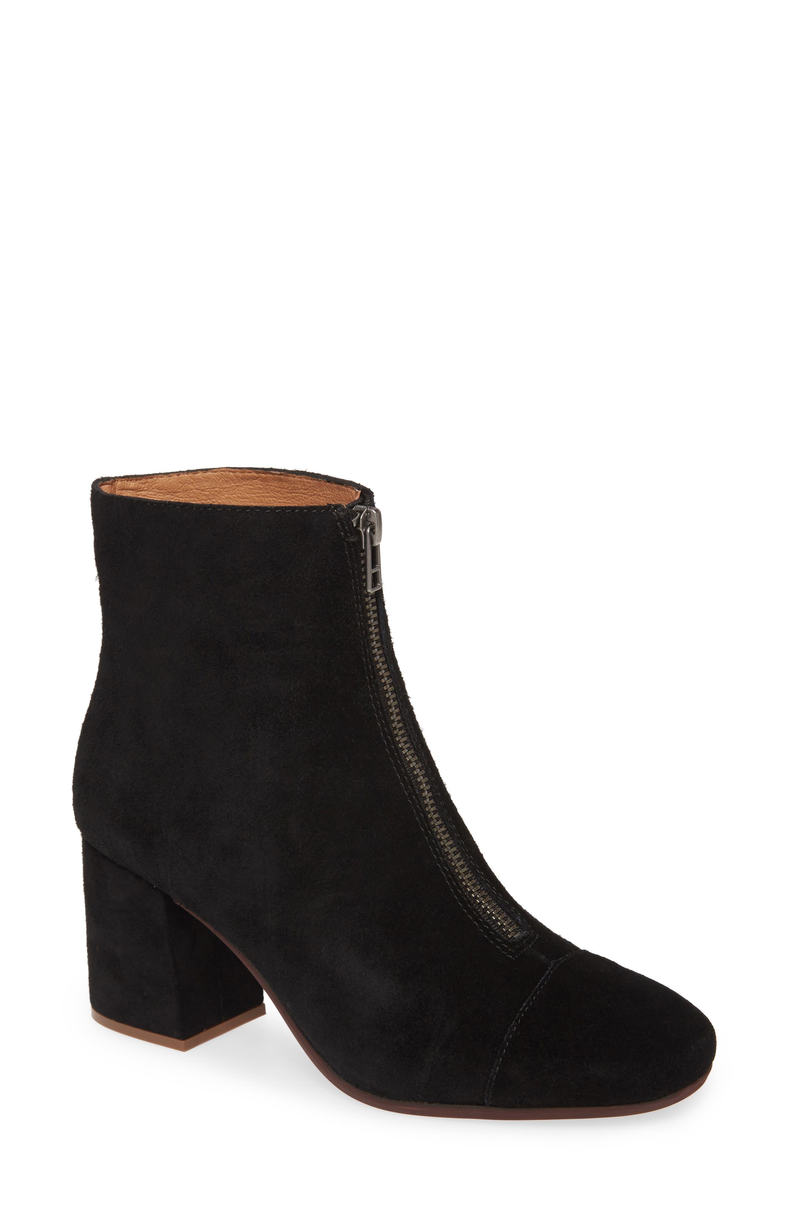 Image of Madewell The Amalia Zip Suede Boot
