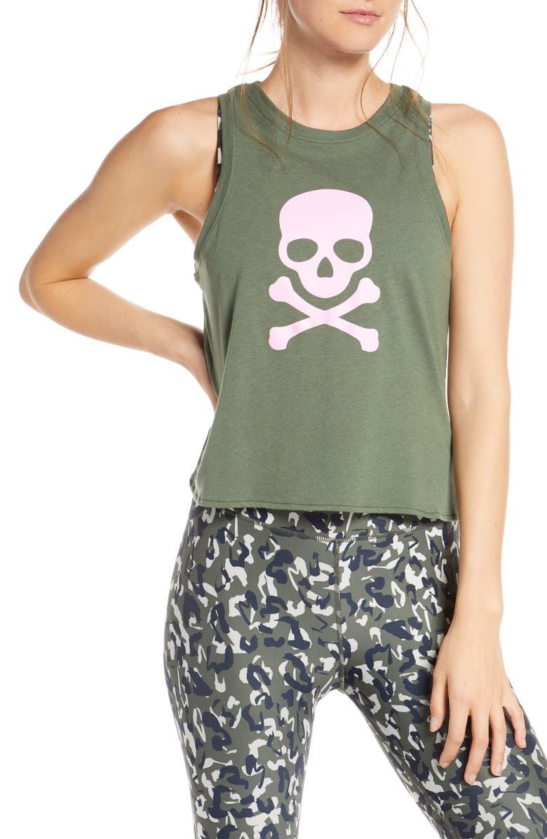 Callie Crop Tank by Soul By Soulcycle