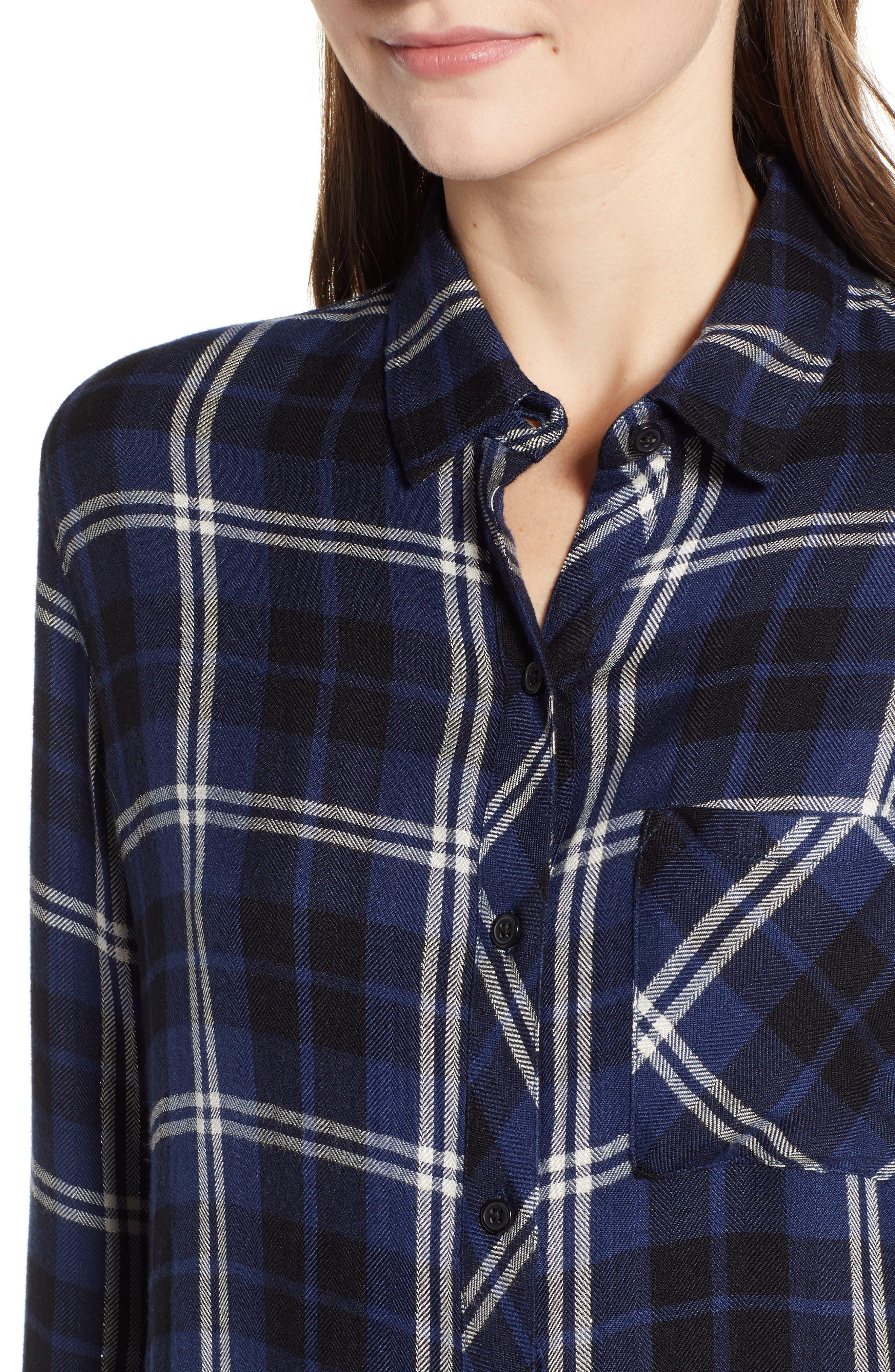 ,                             Hunter Plaid Shirt,                             Alternate thumbnail 337, color,                             411