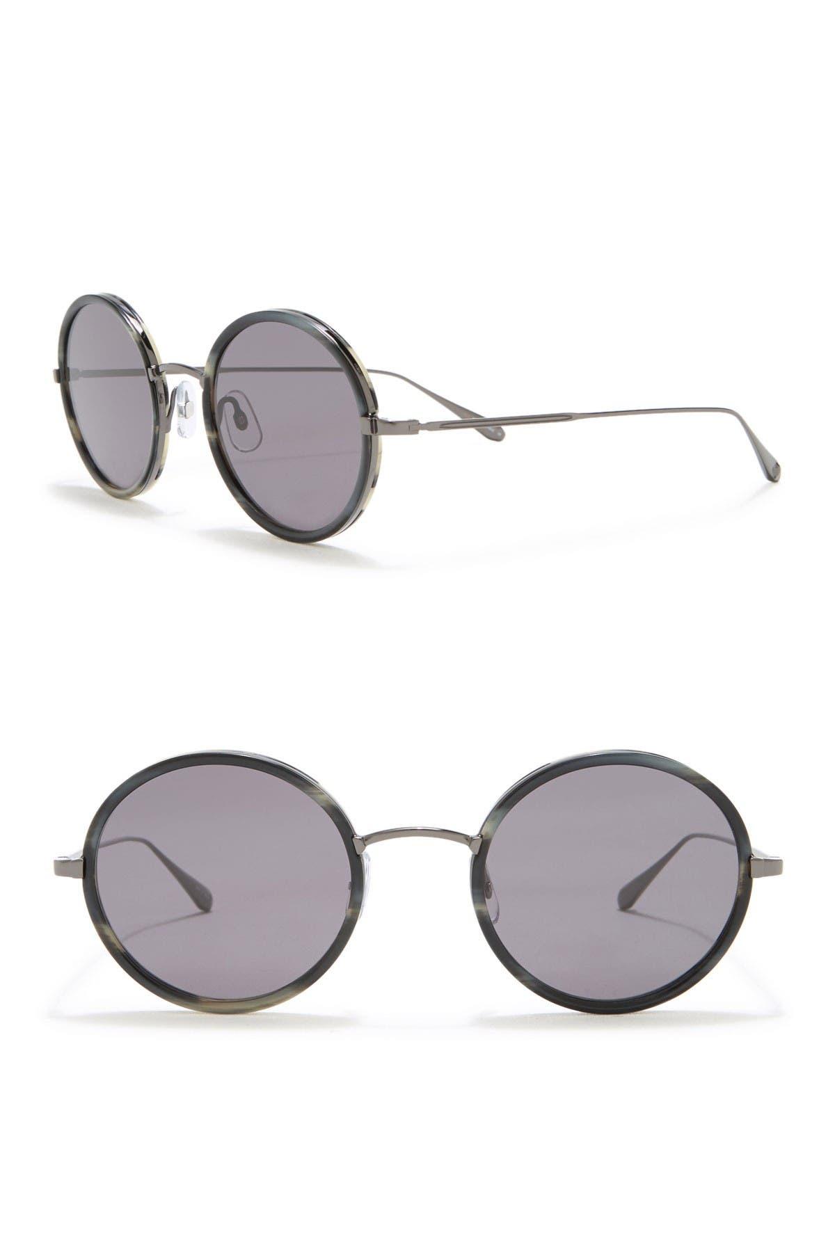 Image of GARRETT LEIGHT Playa 50mm Round Sunglasses