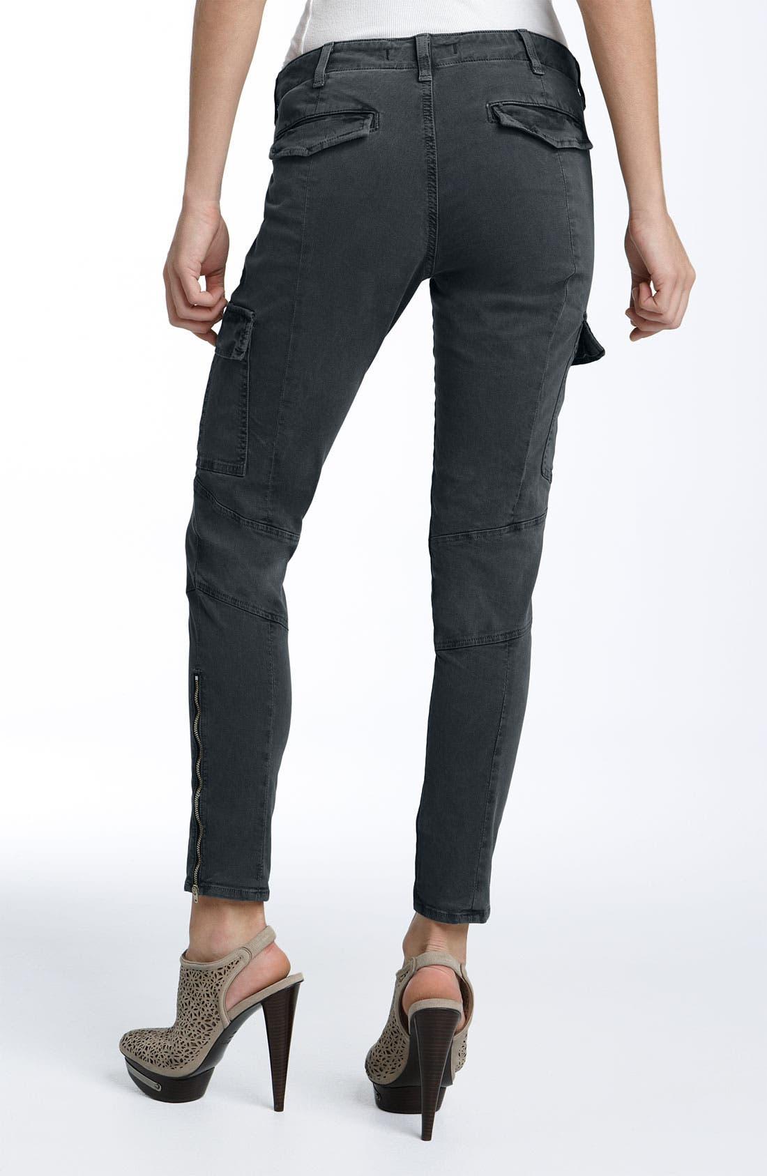 ,                             'Houlihan' Skinny Stretch Cotton Cargo Pants,                             Alternate thumbnail 13, color,                             402