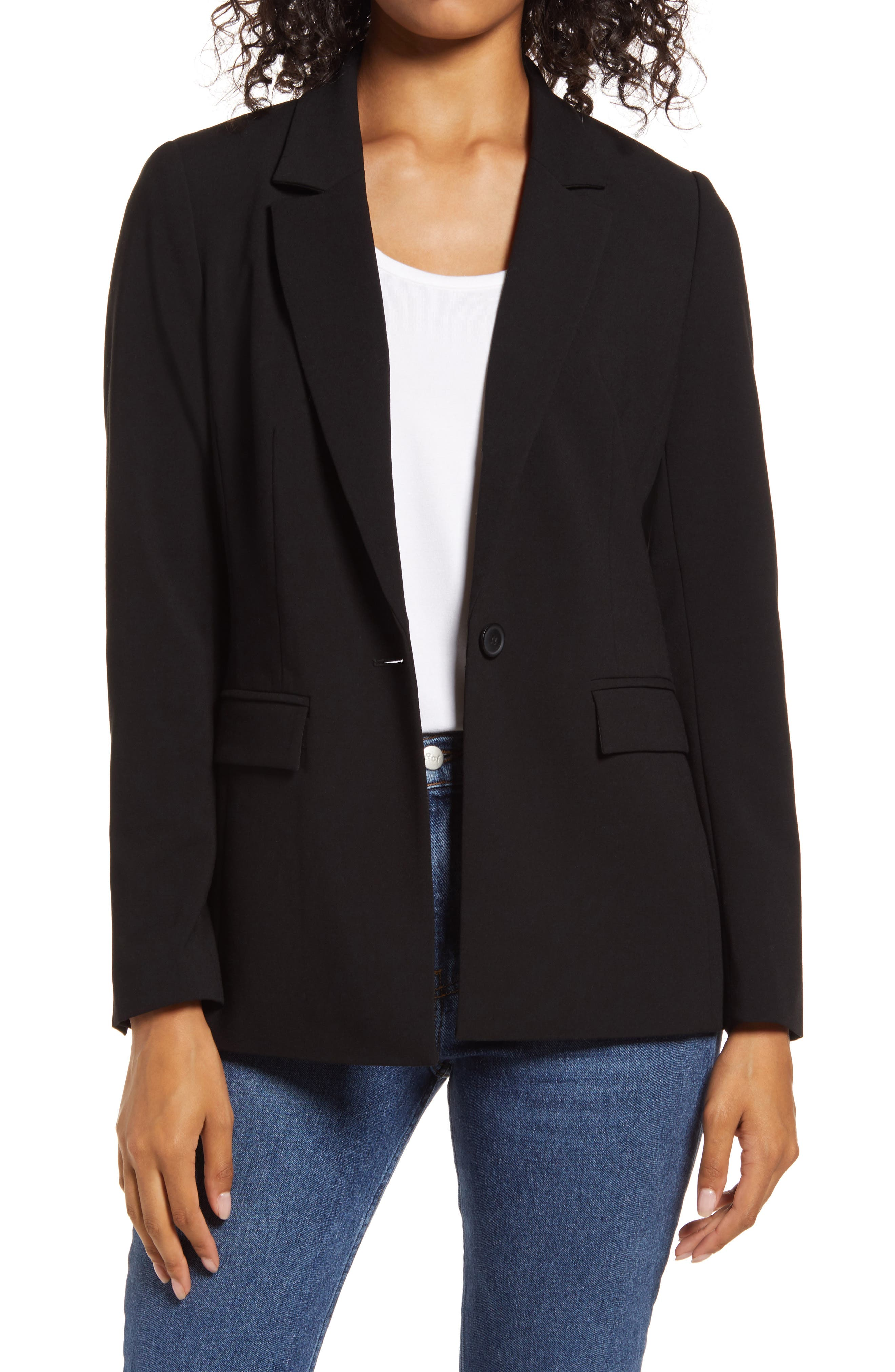 Image of Halogen Pocket Blazer