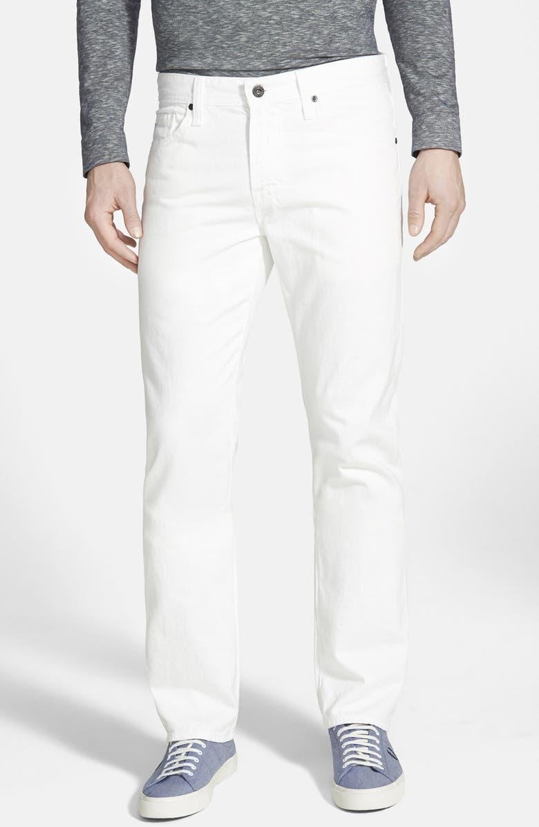 AG 'Graduate' Slim Straight Leg Jeans, Main, color, 100