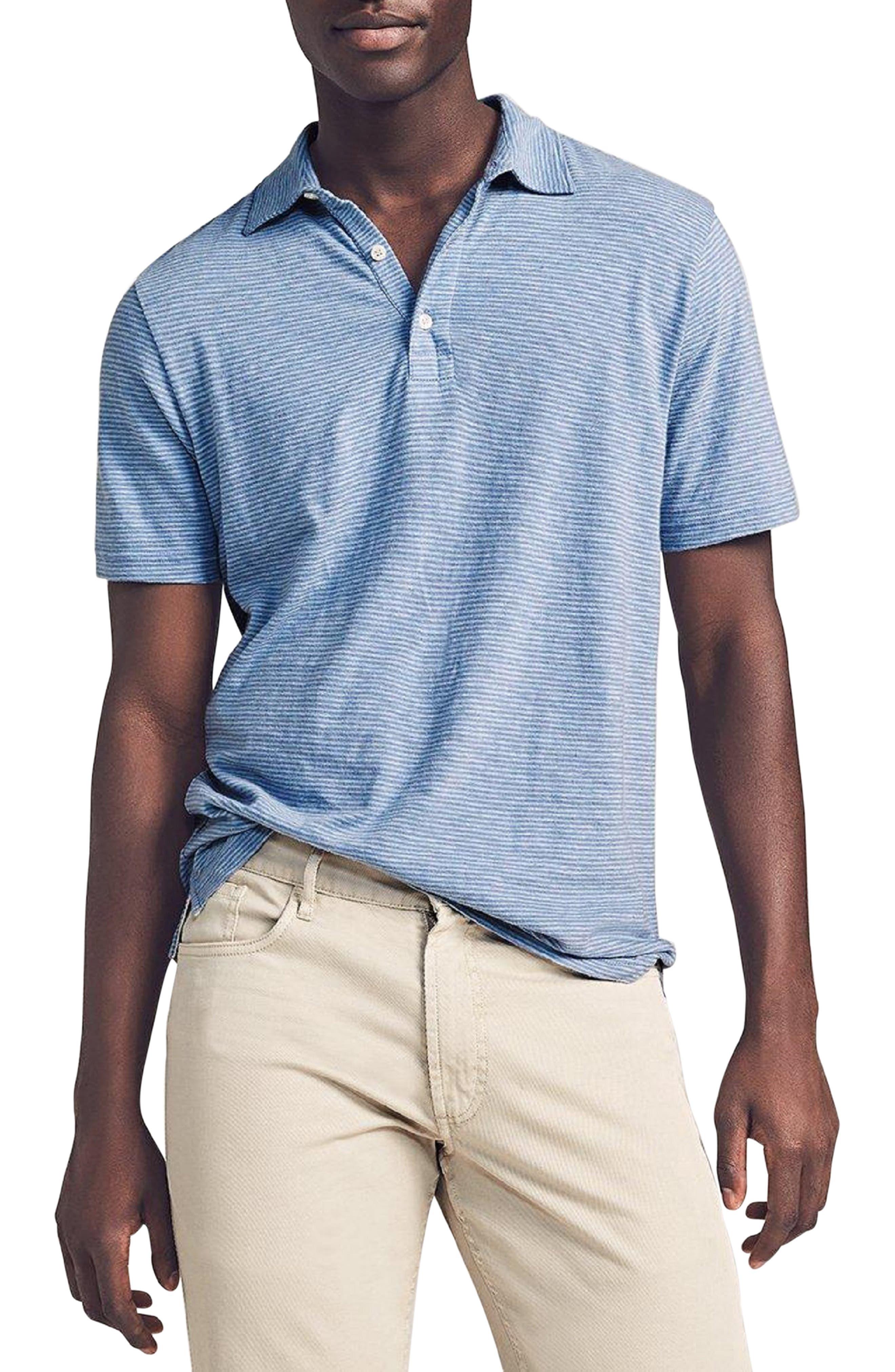 Isle Stripe Short Sleeve Polo Shirt