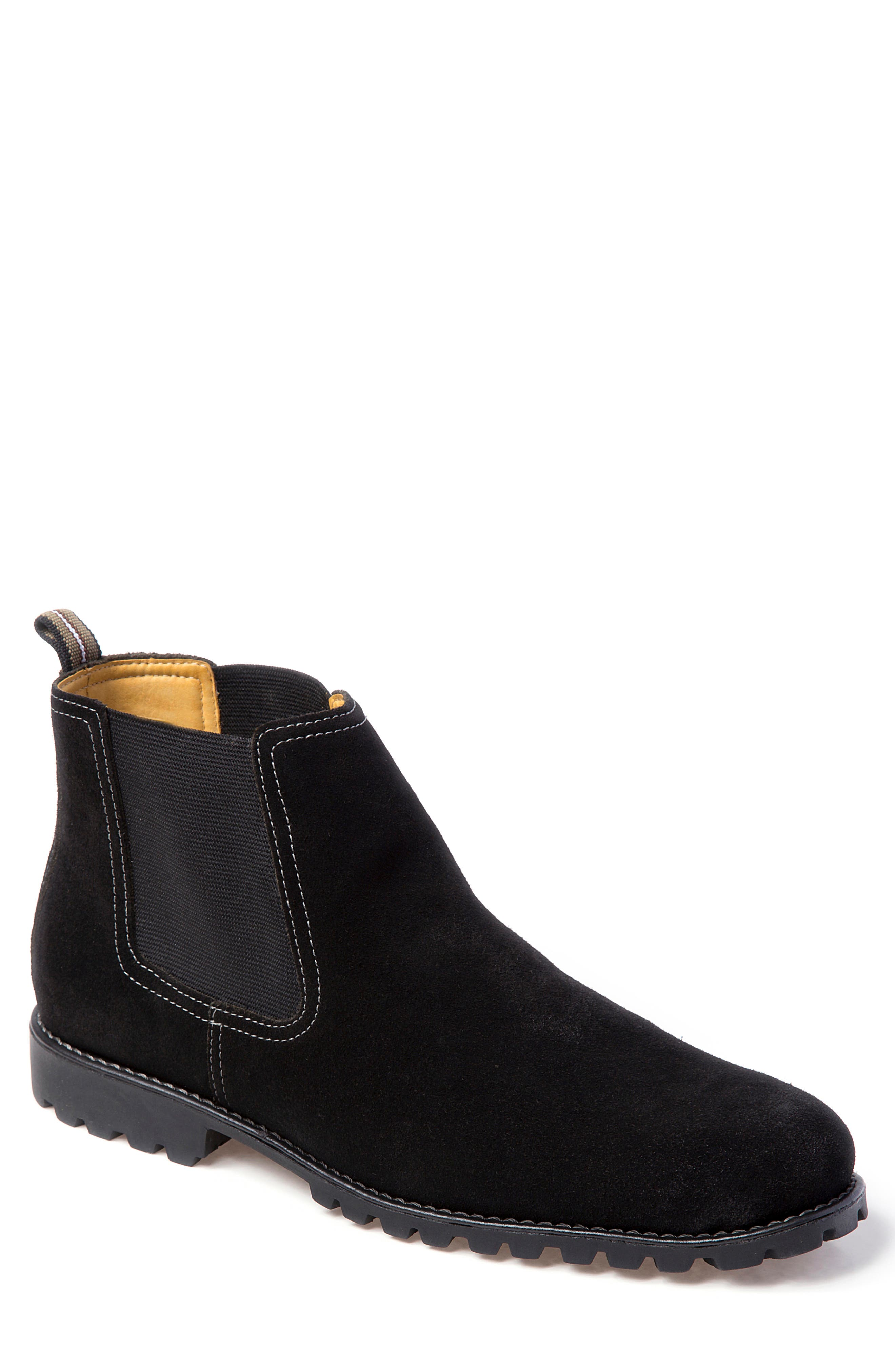 Sandro Moscoloni Cyrus Lugged Chelsea Boot - Black