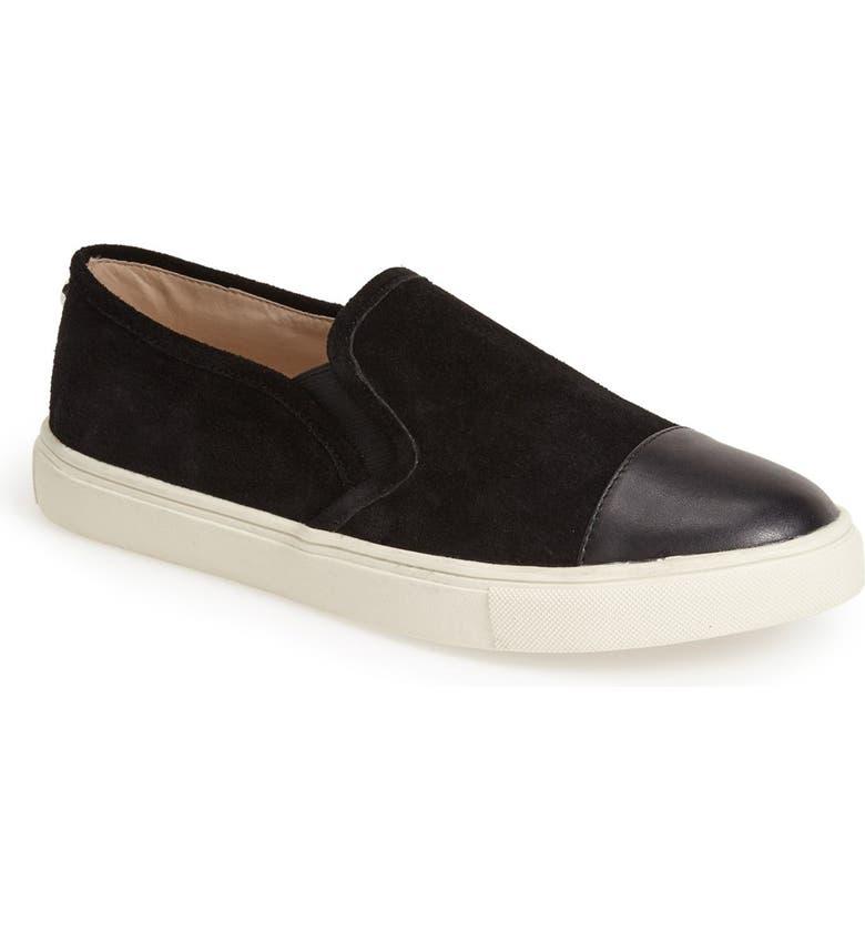 STEVE MADDEN 'Emuse' Slip-On Sneaker, Main, color, 001
