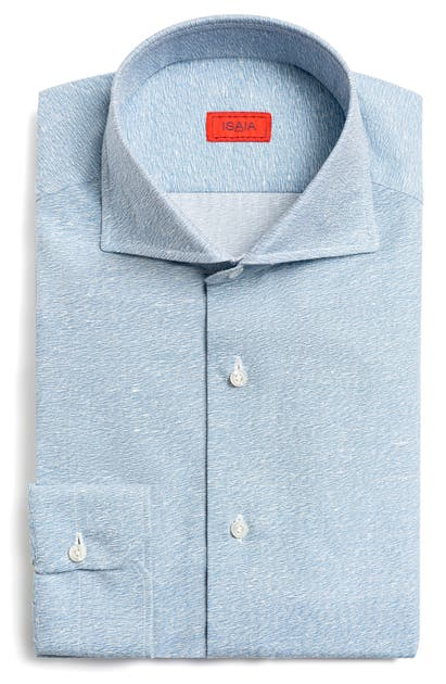 Isaia CAMICIE SLIM FIT BUTTON-UP SHIRT