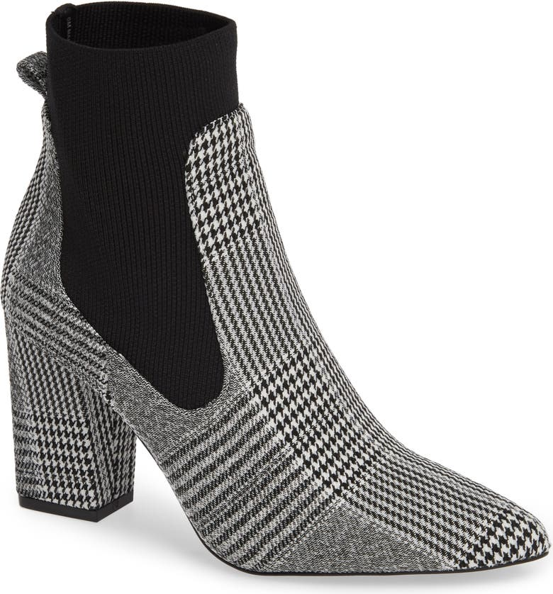 STEVE MADDEN Richter Sock Bootie, Main, color, 001