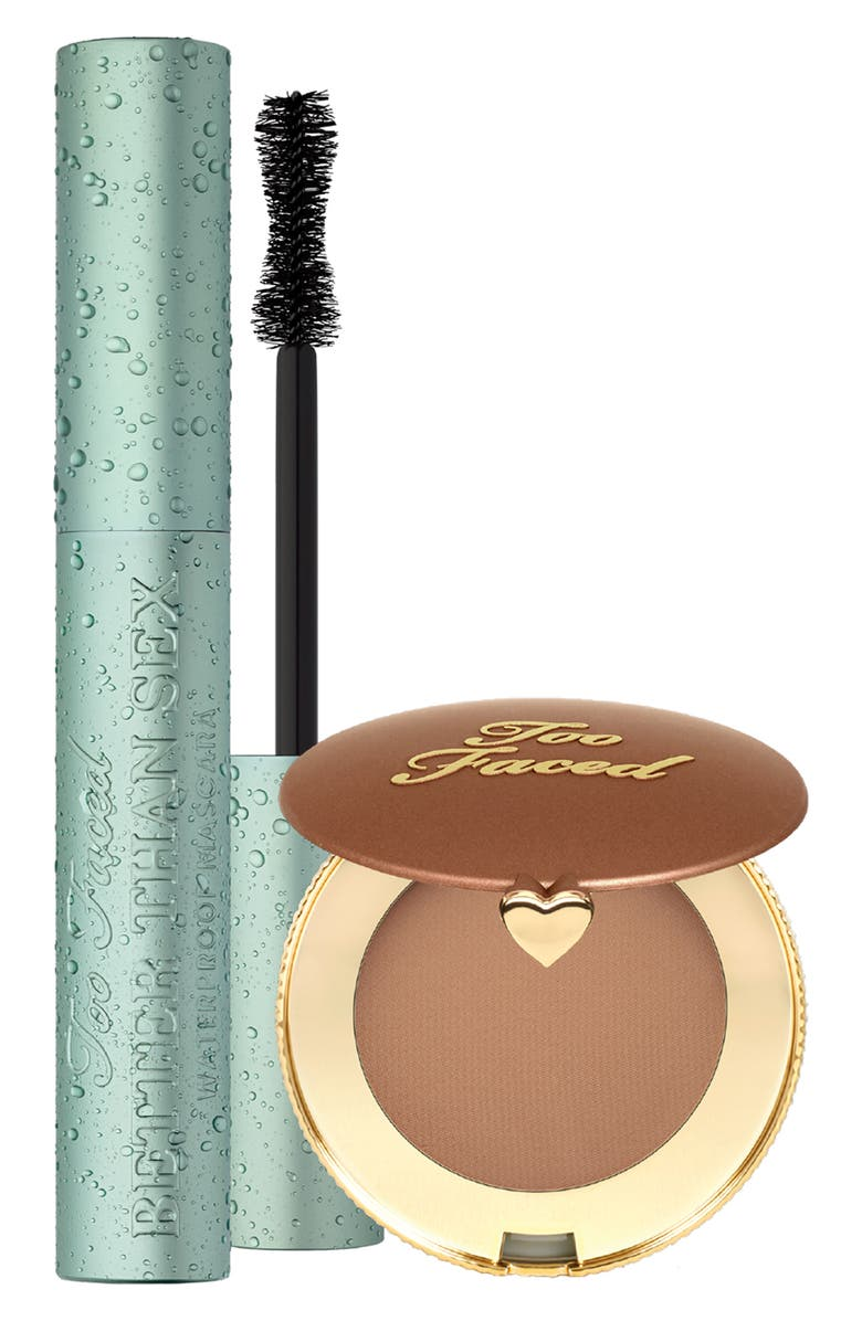 TOO FACED Beach Bag Must Haves Set, Main, color, 000