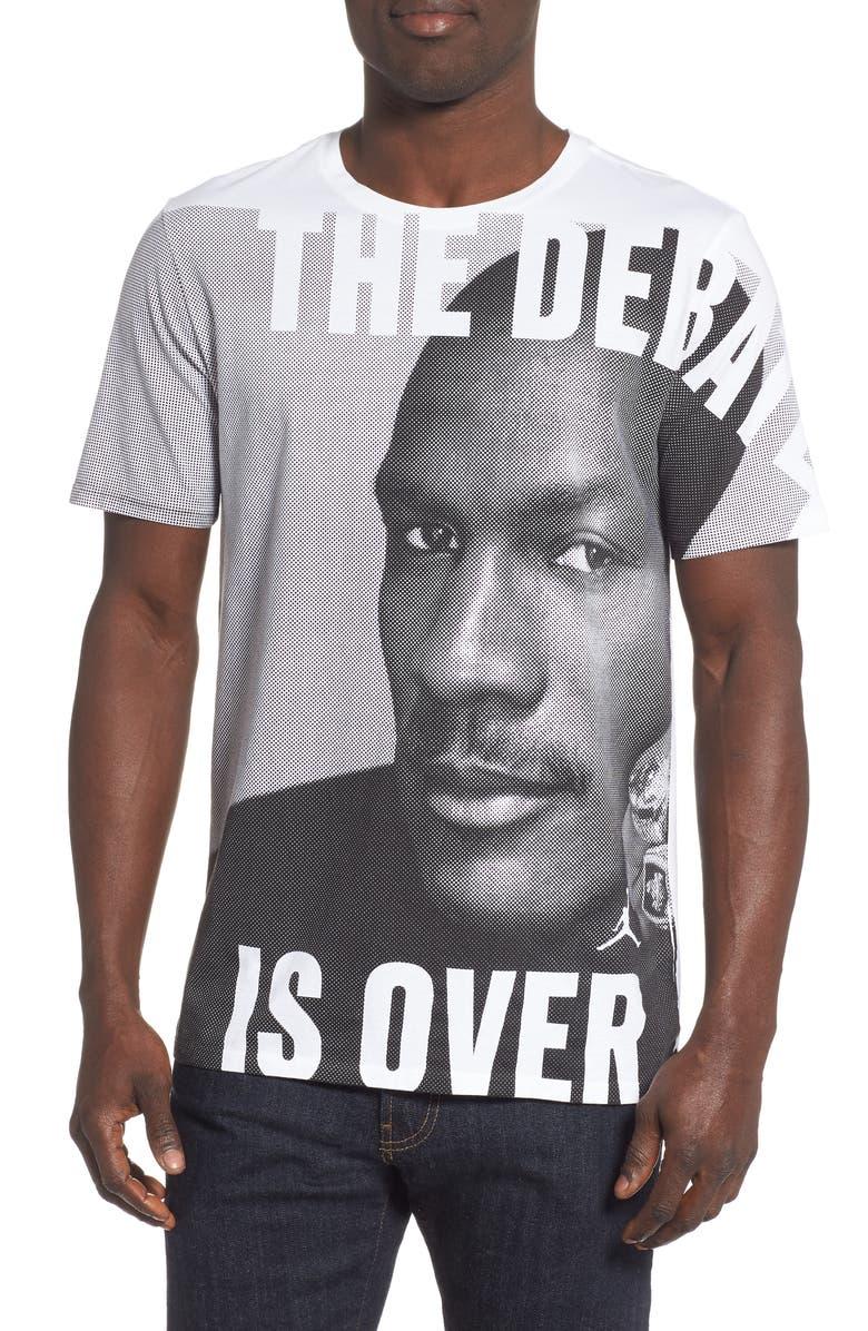 JORDAN JSW Greatest Graphic T-Shirt, Main, color, 100