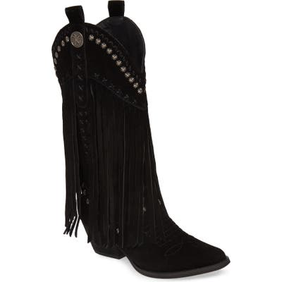 Very Volatile Destry Western Boot, Black