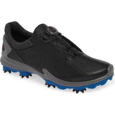 Ecco Biom G 3 Boa Gore-Tex Golf Shoe, Black