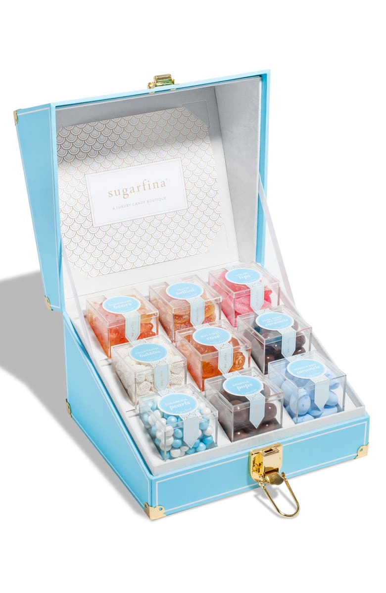 SUGARFINA 9-Piece Candy Mini Trunk, Main, color, 400