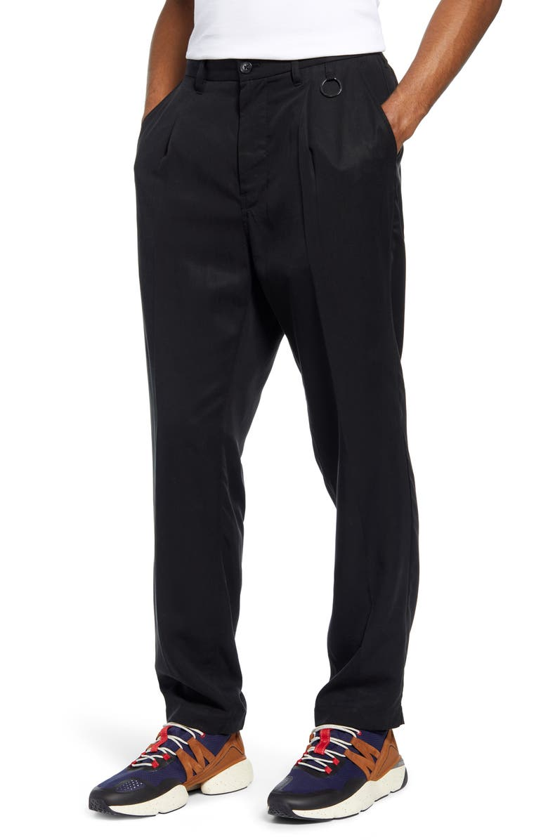 SATURDAYS NYC Dean Pleated Pants, Main, color, 001