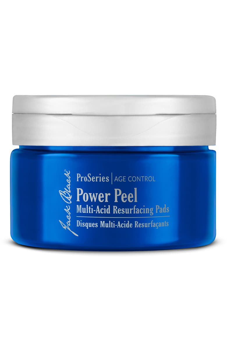 JACK BLACK Power Peel Multi-Acid Resurfacing Pads, Main, color, NO COLOR
