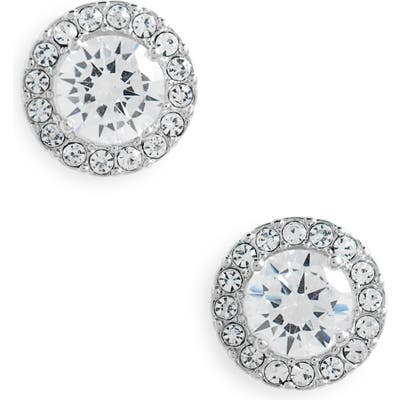 Nordstrom Halo Cubic Zirconia Stud Earrings