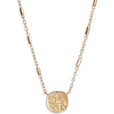 Allsaints Mini Coin Pendant Necklace