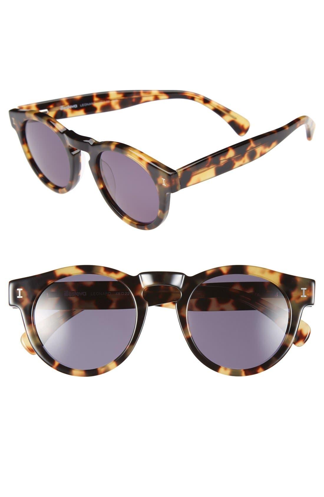 ,                             'Leonard' 47mm Sunglasses,                             Main thumbnail 71, color,                             202