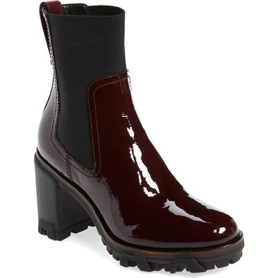 Rag & Bone Shiloh High Gored Bootie, Burgundy