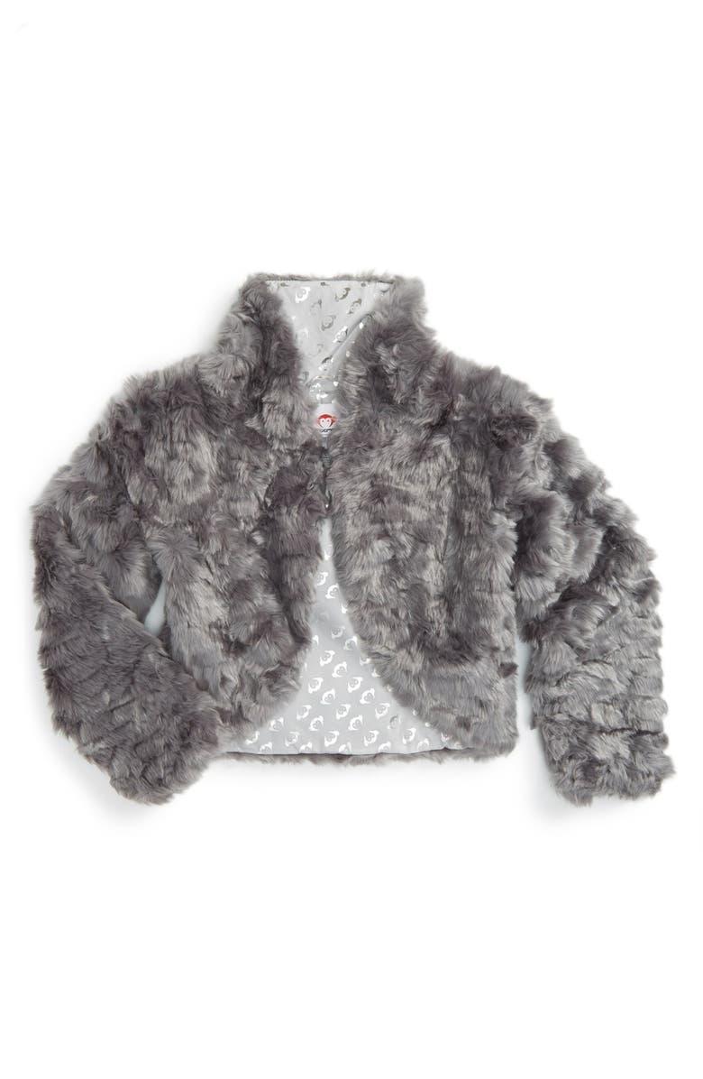 1ea71230d Appaman Faux Fur Shrug (Toddler Girls, Little Girls & Big Girls ...