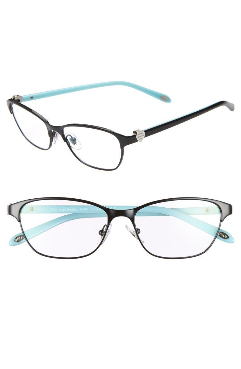 TIFFANY & CO. 51mm Optical Glasses, Main, color, 001