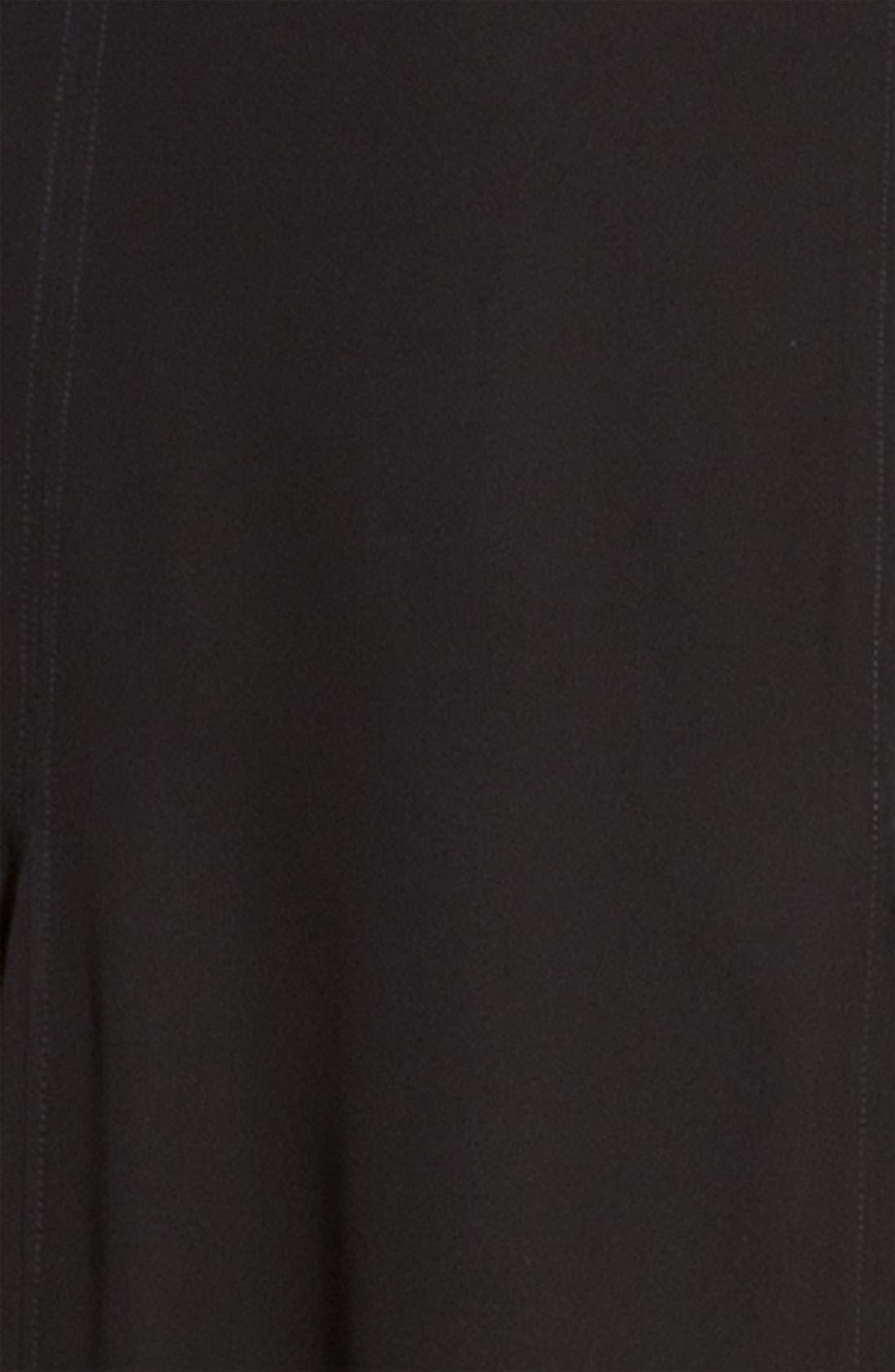 ,                             <sup>®</sup> Half Sheer Chiffon Maxi Skirt,                             Alternate thumbnail 2, color,                             001