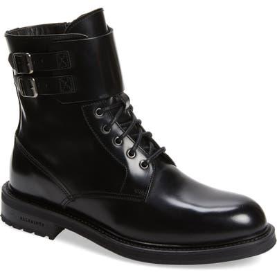 Allsaints Brigade Combat Boot, Black
