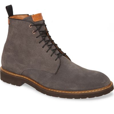 Good Man Brand Derby Norwegian Plain Toe Boot, Grey