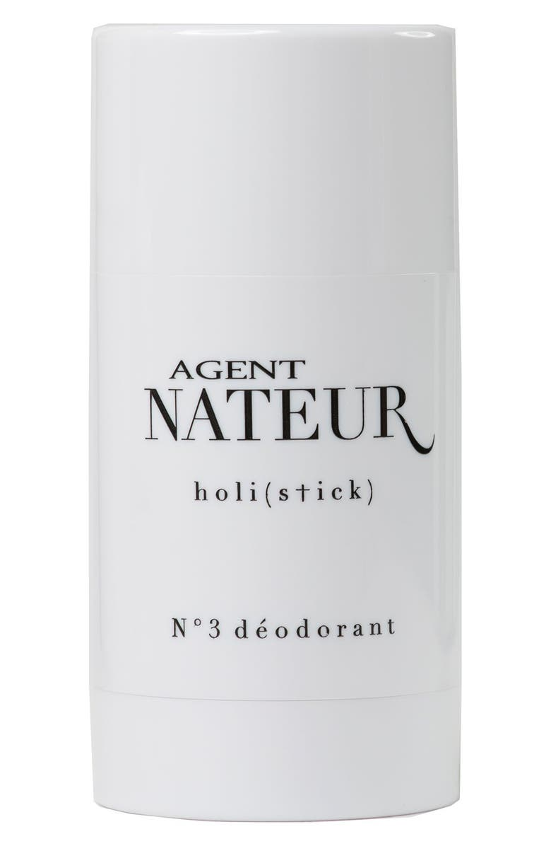 AGENT NATEUR holi(stick) No. 3 Deodorant, Main, color, NO COLOR