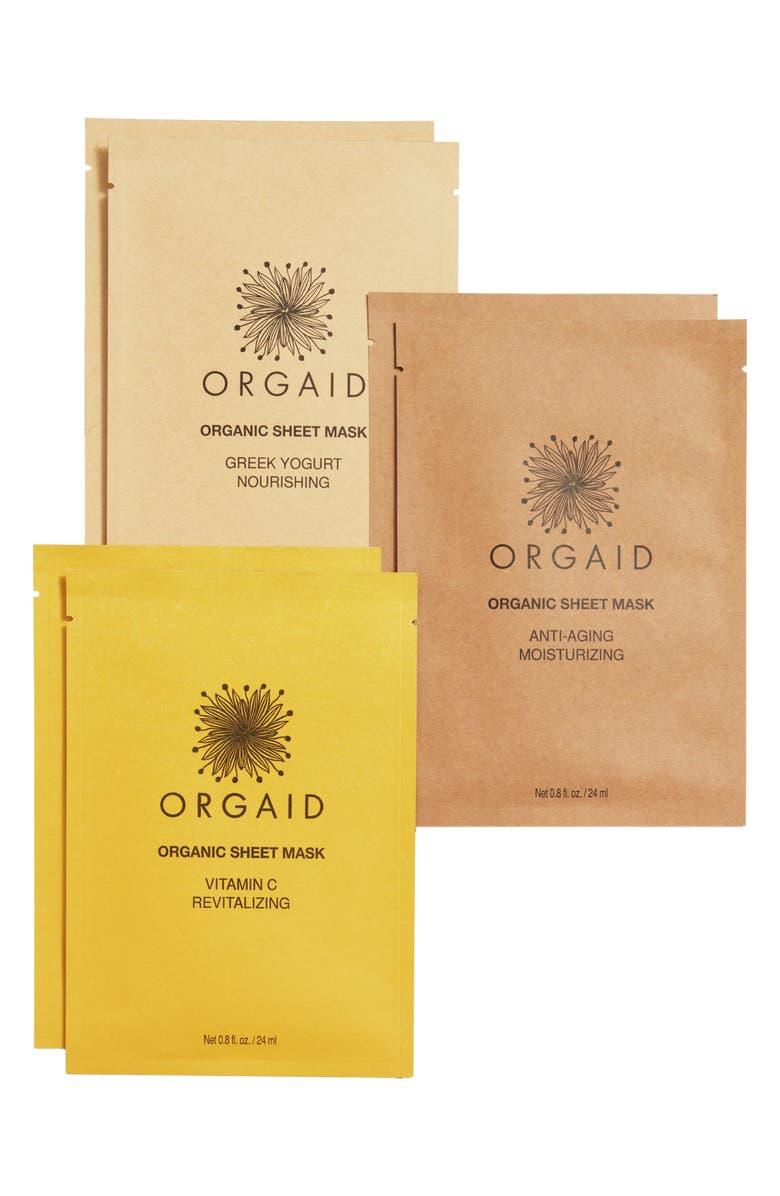 ORGAID Organic Sheet Mask Set, Main, color, 300