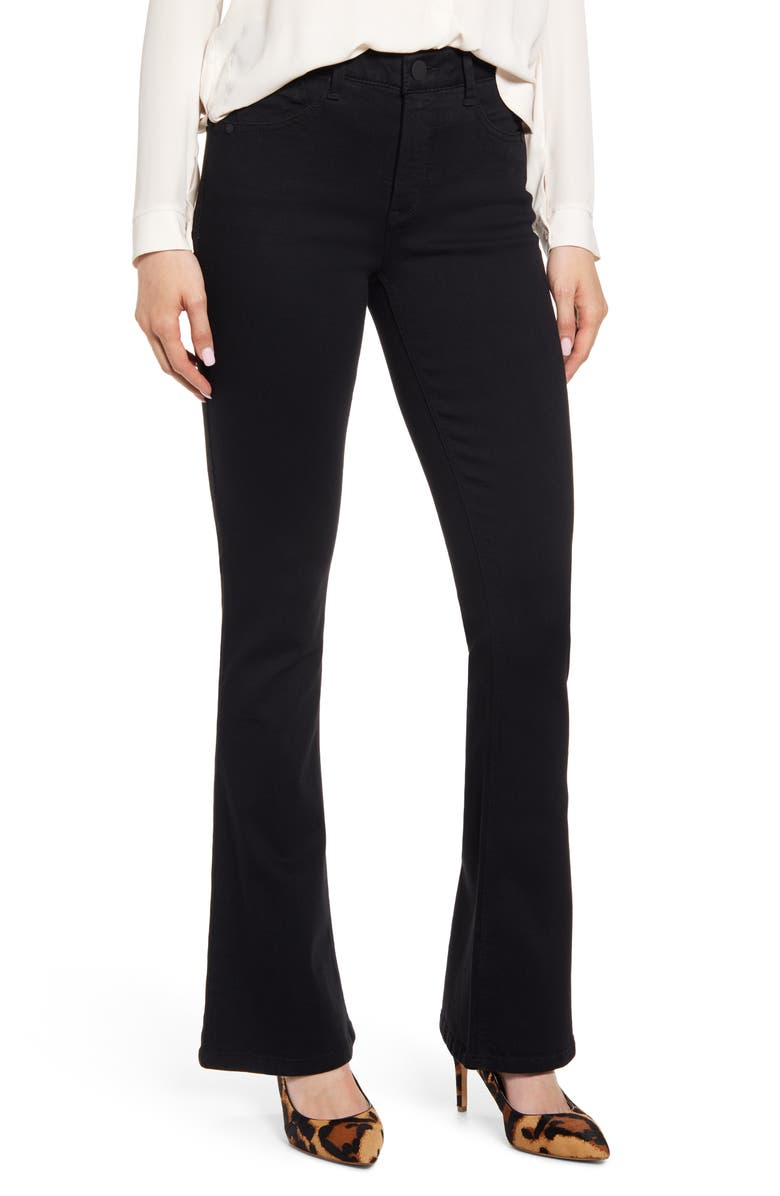 WIT & WISDOM Ab-Solution Itty Bitty Bootcut Jeans, Main, color, BK-BLACK