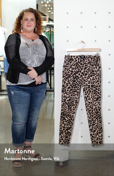 Hoxton High Waist Raw Hem Ankle Skinny Jeans, sales video thumbnail