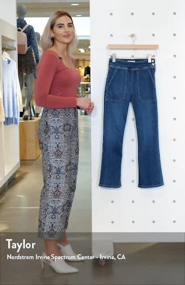Le Francoise Crop Bootcut Jeans, sales video thumbnail