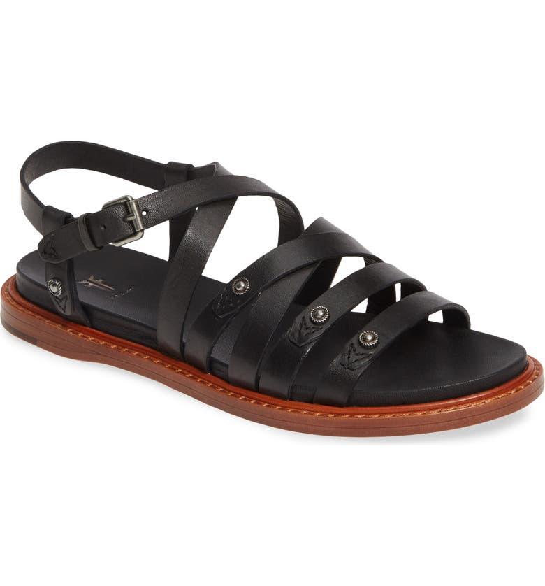 FRYE Andora Strappy Sandal, Main, color, 001