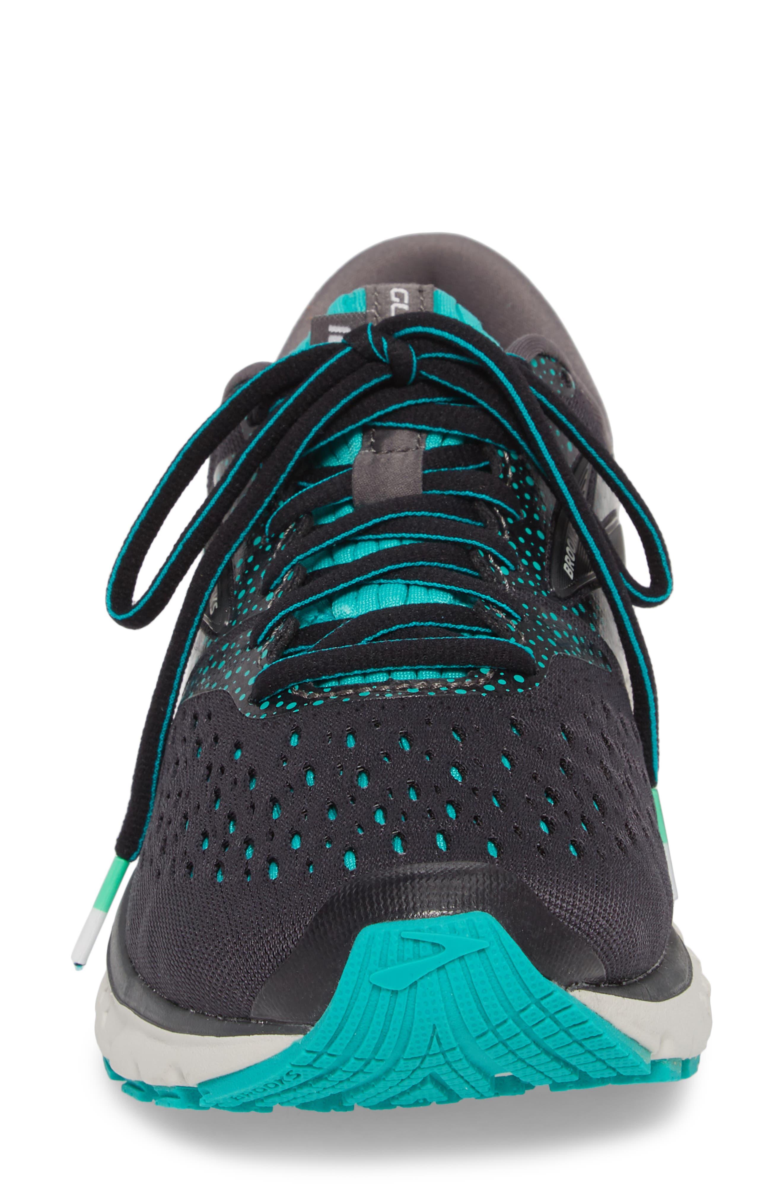 ,                             Glycerin 16 Running Shoe,                             Alternate thumbnail 4, color,                             EBONY/ GREEN/ BLACK