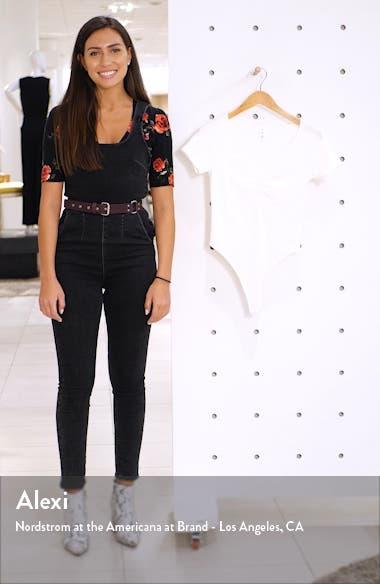 x Claudia Sulewski Cinch Front Bodysuit, sales video thumbnail