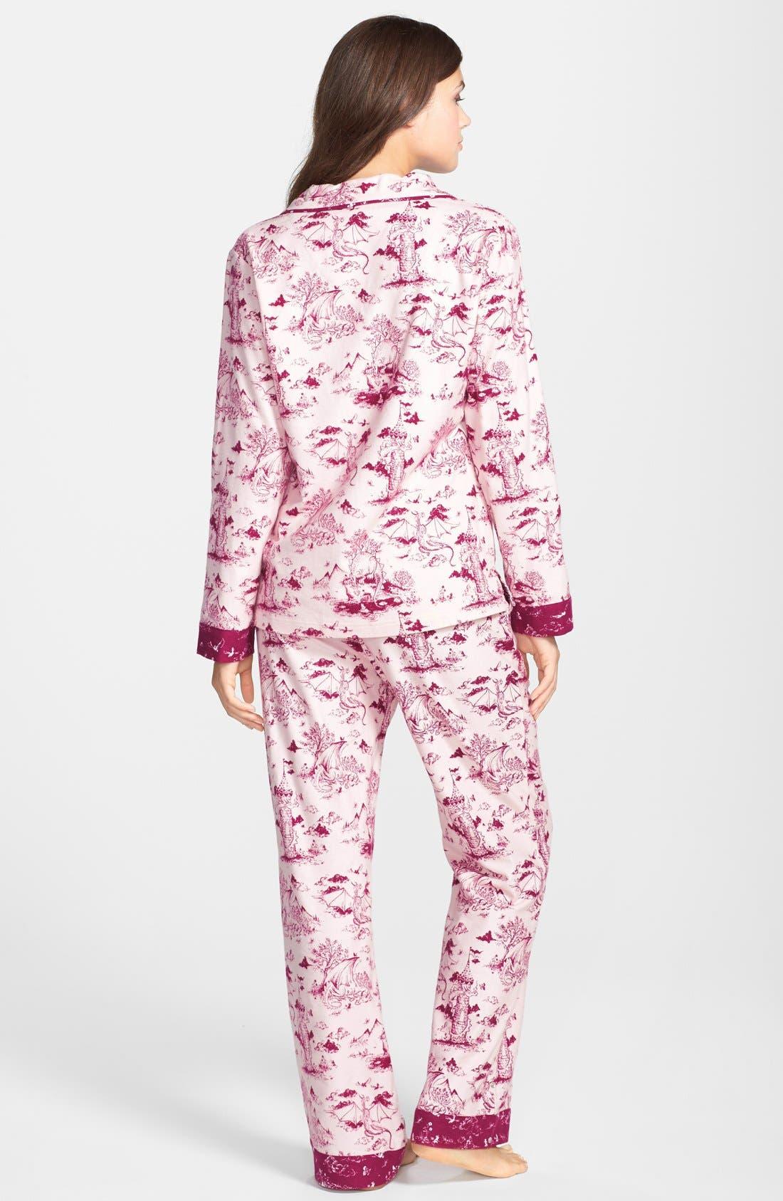 ,                             Flannel Pajamas,                             Alternate thumbnail 91, color,                             685
