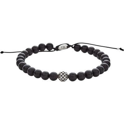 Degs & Sal Onyx Bead Bracelet