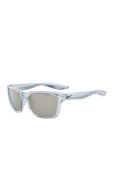 Image of Nike Essential Spree 57mm Square Sunglasses