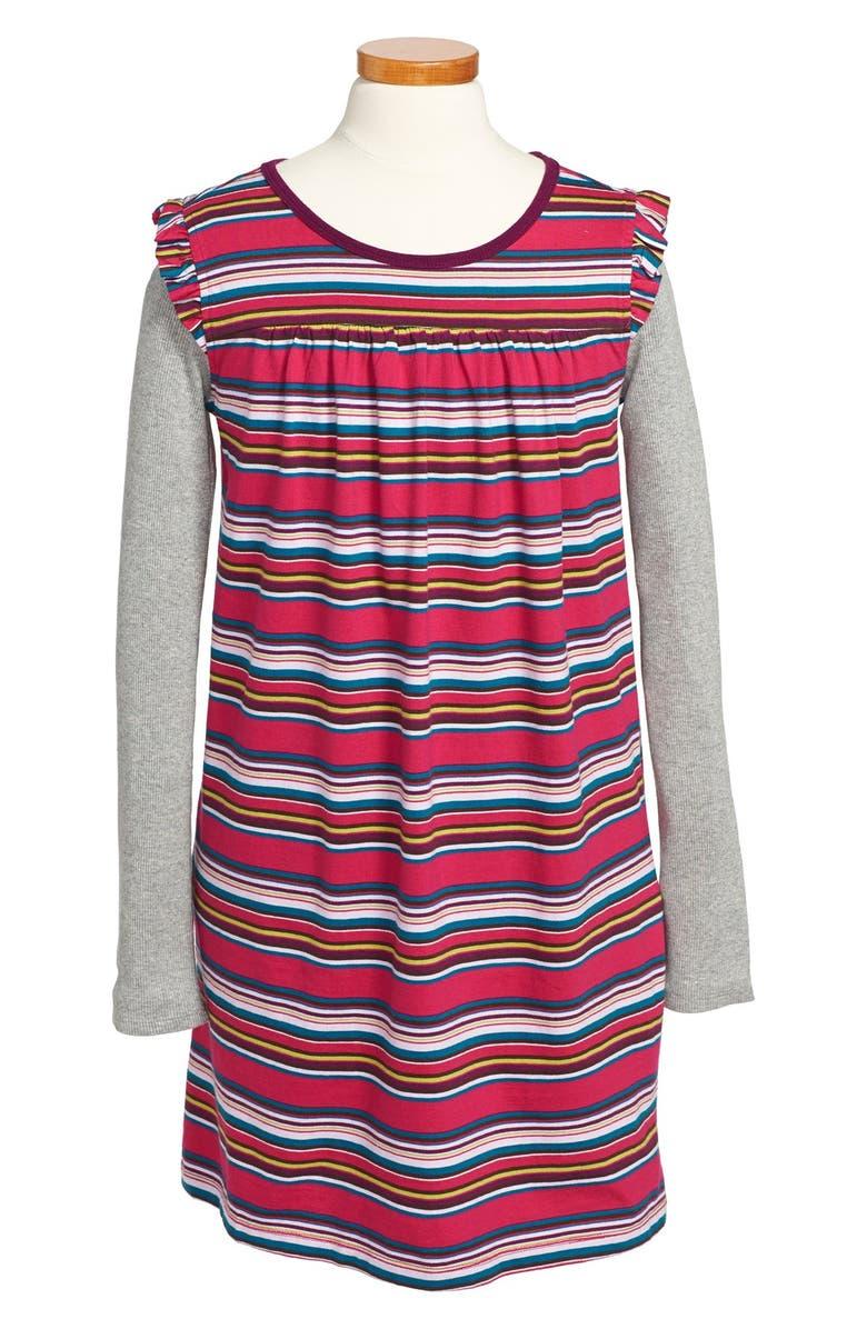 TEA COLLECTION 'Waldland' Double Decker Dress, Main, color, 651