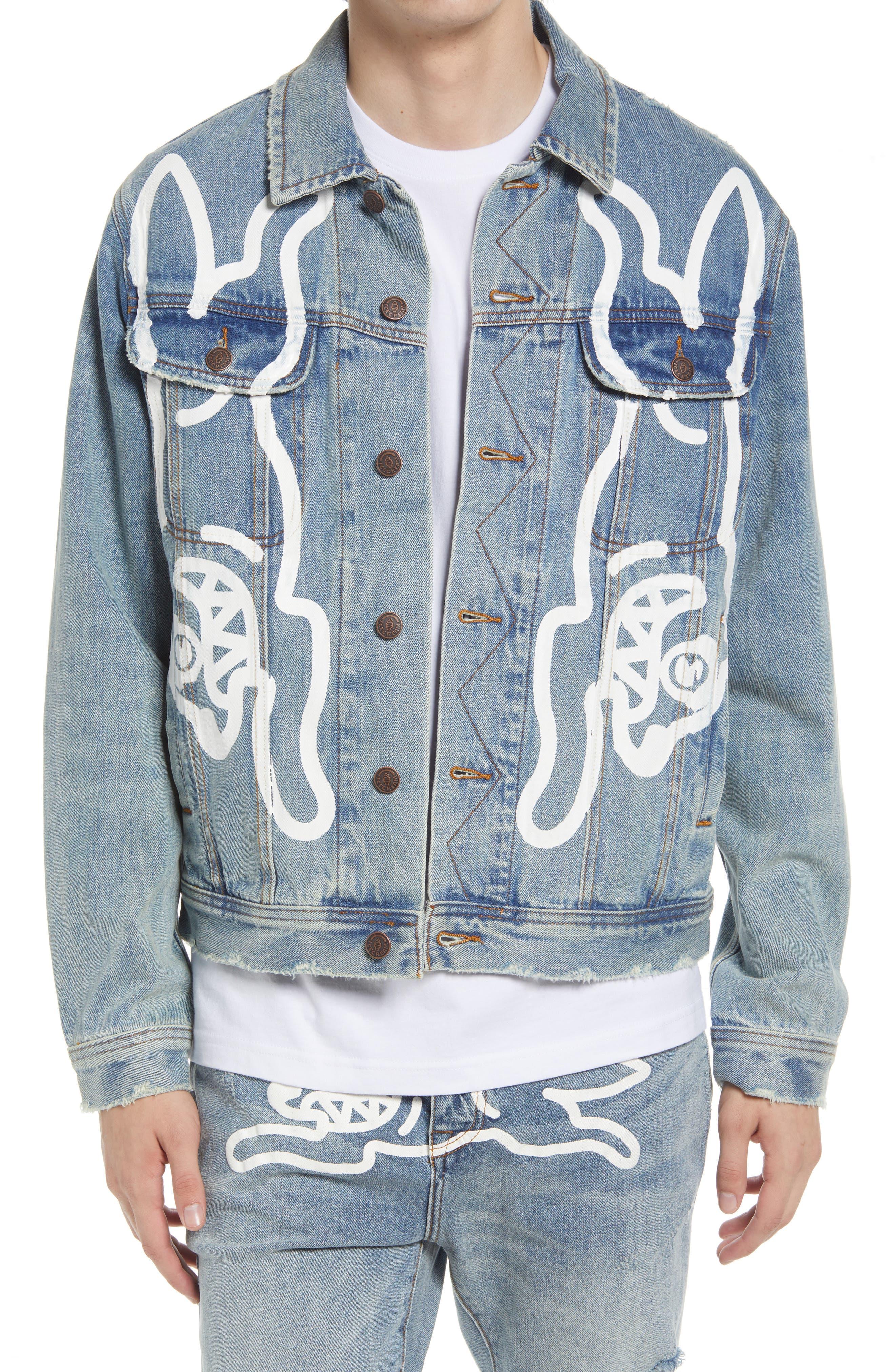 Men's Mirror Denim Jacket