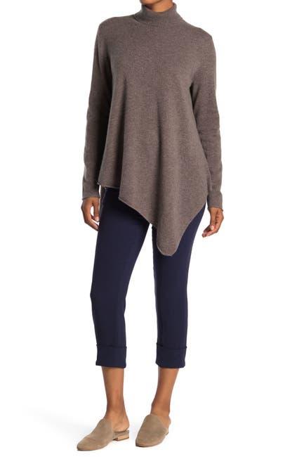Image of Magaschoni Turtleneck Cashmere Tunic Sweater